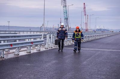 Крымский мост прошел последние испытания перед запуском в эксплуатацию