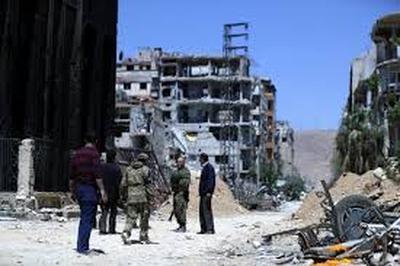 ОЗХО, прибывшие накануне в Сирию, добрались до города Дума и приступили к сбору образцов