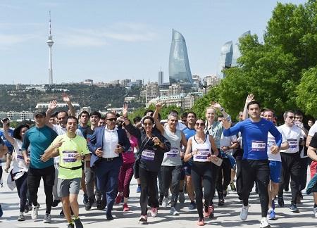 Бакинский марафон 2018