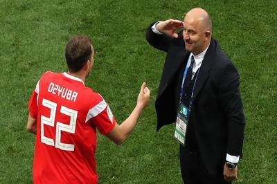 Игра российской сборной вызвала двоякое чувство у Черчесова