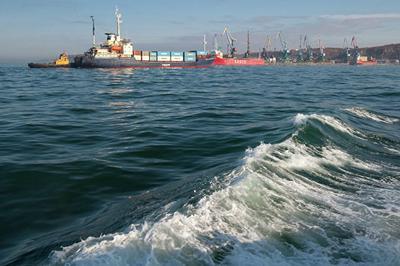 Между Сахалином и японским островом Хоккайдо начала работать паромная переправа