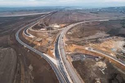 """Первый этап строительства трассы """"Таврида"""" завершен на 65%"""