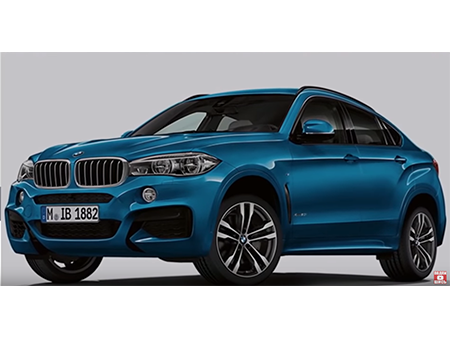 BMW X6 new