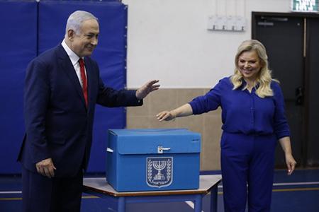 Досрочный выборы в Израиле