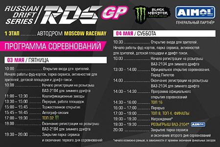 соревнования по дрифту RDS GP 2019
