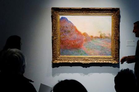 Картина Клода Моне Стога куплена за 110,7 млн долларов