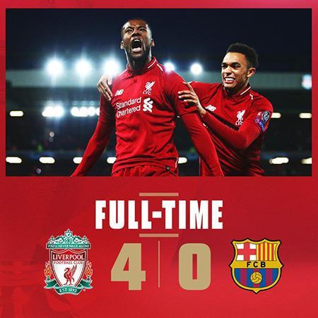 Ливерпуль - Барселона 2019