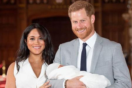 Принц Гарри и Меган показали своего сына