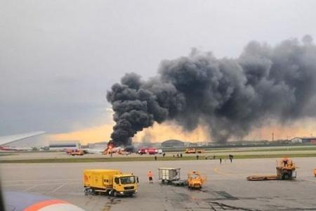 Крушение российского самолета в Шереметьево