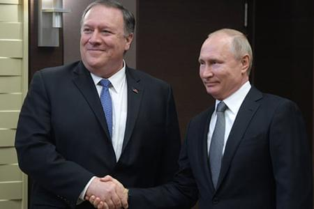 встреча Путин Помпео