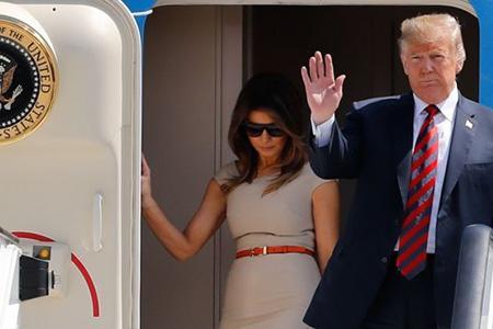 Дональд Трамп с государственным визитом в Великобритании