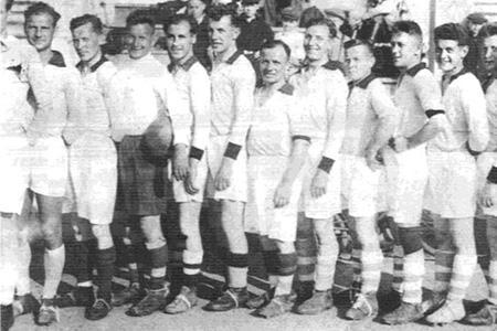 футбольный матч 1942