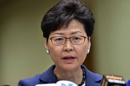 протесты в Гонконге Кэрри Лэм