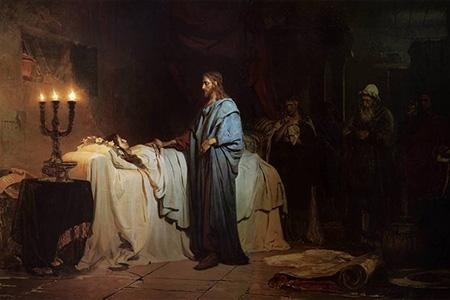 Репин Воскрешение дочери Иаира
