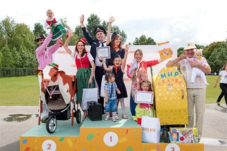 Телеканал «МАМА» приглашает всех на костюмированный «Парад колясок