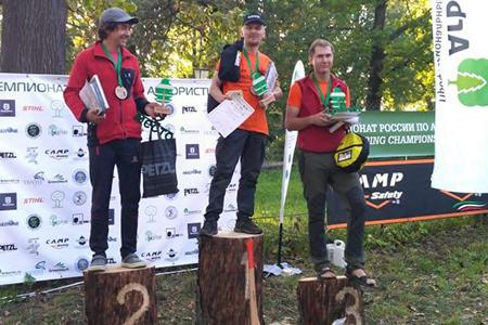 Husqvarna поддержала II Чемпионат России по арбористике