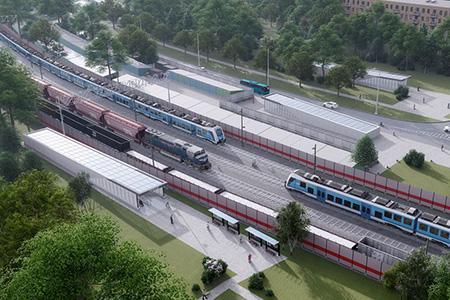 Москвичи одобрили проекты планировок пешеходных переходов на Савёловском и Курском направлении МЖДv