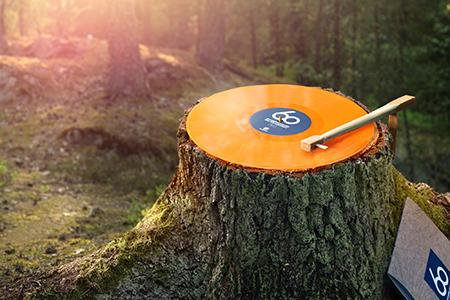 Husqvarna выпустила лимитированное издание виниловых пластинок к 60-летию бензопил