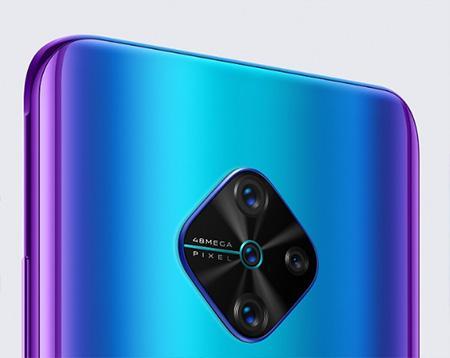 Vivo смартфон V17 с невероятной квадрокамерой