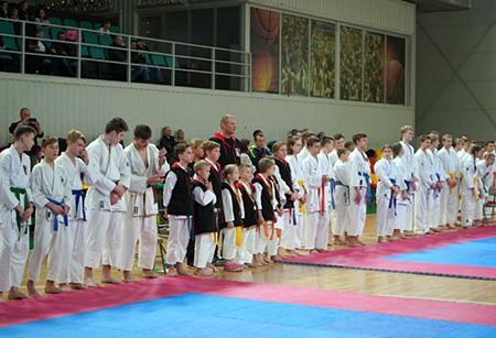 московские каратисты на международном турнире «Путь тигра» в Каунасе
