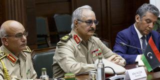 Ливийский конфликт: воюющие стороны встретились в Москве для переговоров