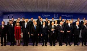 Мировые лидеры в Израиле на форуме Холокоста