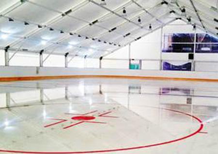 Ледовая арена в Троицке