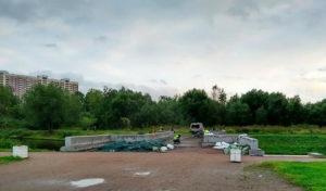 Полежаевский парк в Петербурге ожидает обновление