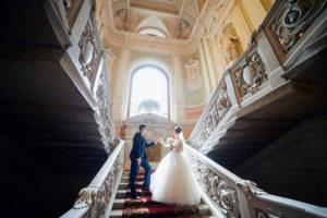 Свадьба во дворце бракосочетания №1